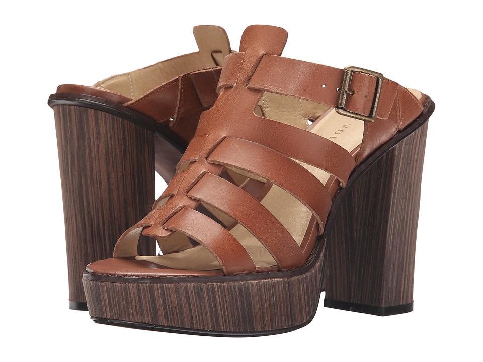VOLATILE - Steadfast (Cognac) High Heels