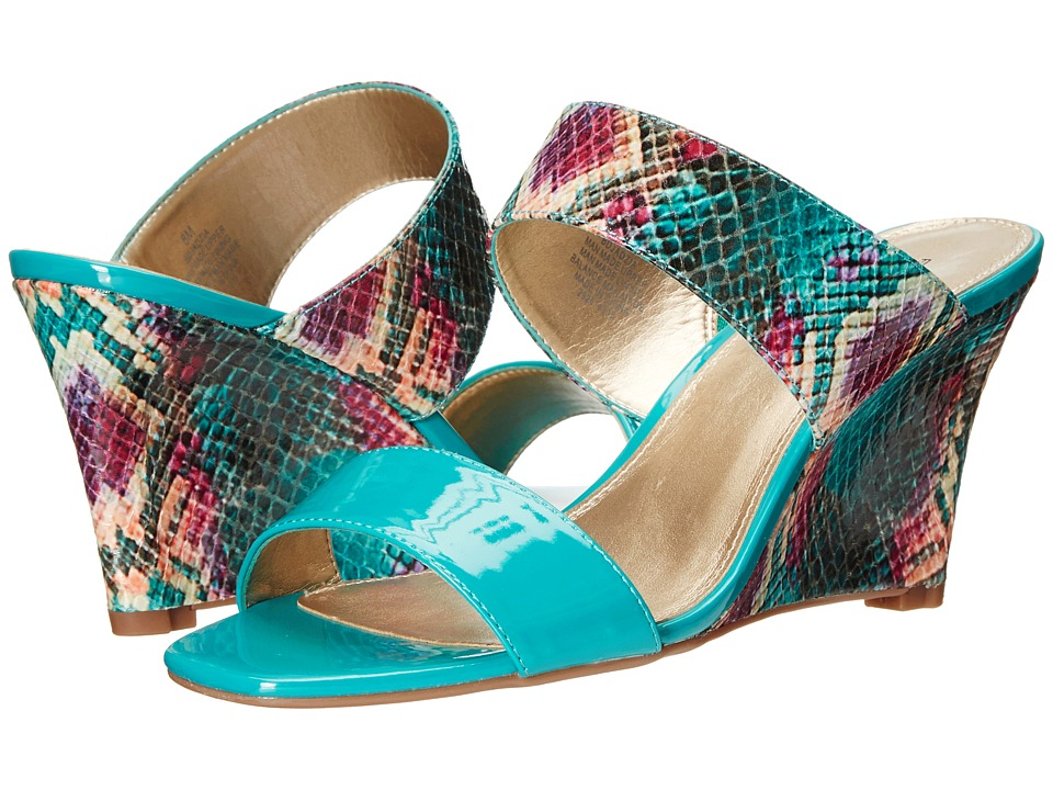 Bandolino Jadzia (Medium Turquoise/Medium Turquoise Synthetic) Women