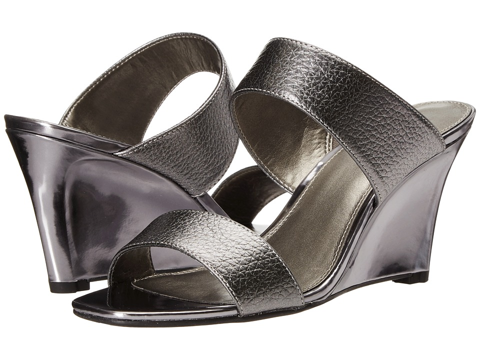 Bandolino - Jadzia (Pewter/Pewter Synthetic) Women's Shoes