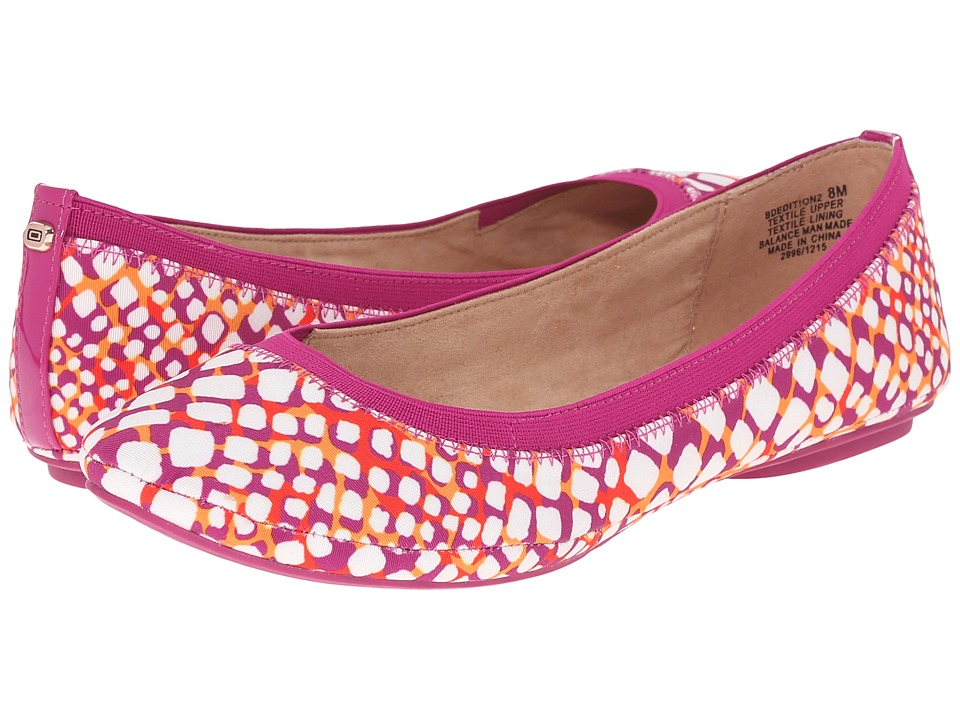 Bandolino - Edition (Purple Multi Fabric) Women's Flat Shoes