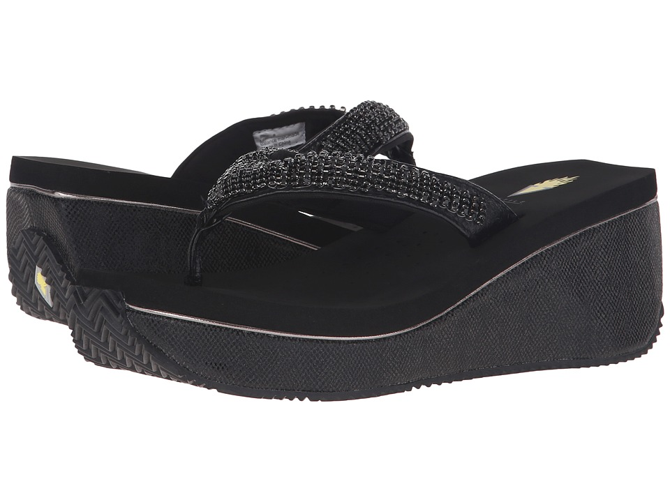 VOLATILE - Simmy (Black) Women's Wedge Shoes