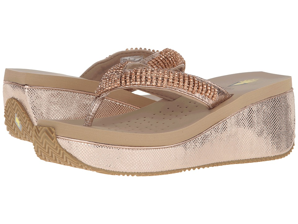 VOLATILE - Simmy (Champagne) Women's Wedge Shoes