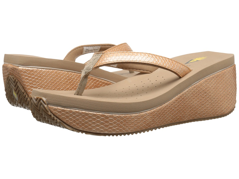 VOLATILE - Digs (Tan) Women's Wedge Shoes