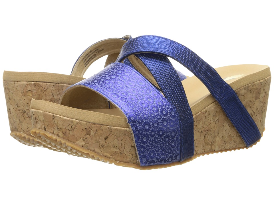 VOLATILE - Junebug (Navy) Women's Wedge Shoes