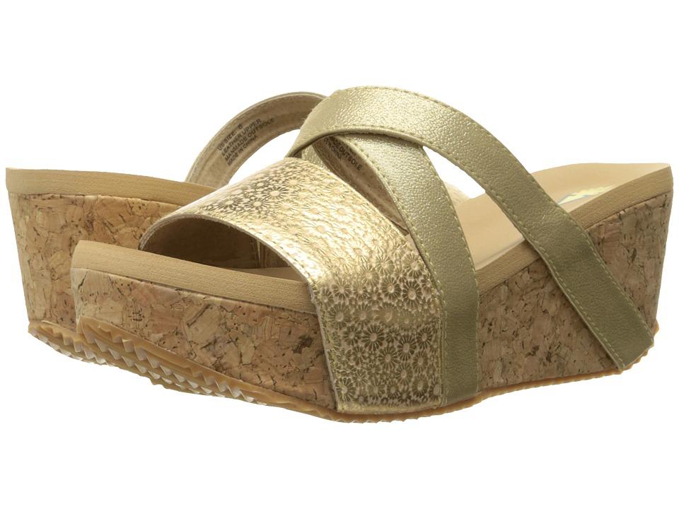 VOLATILE - Junebug (Gold) Women's Wedge Shoes