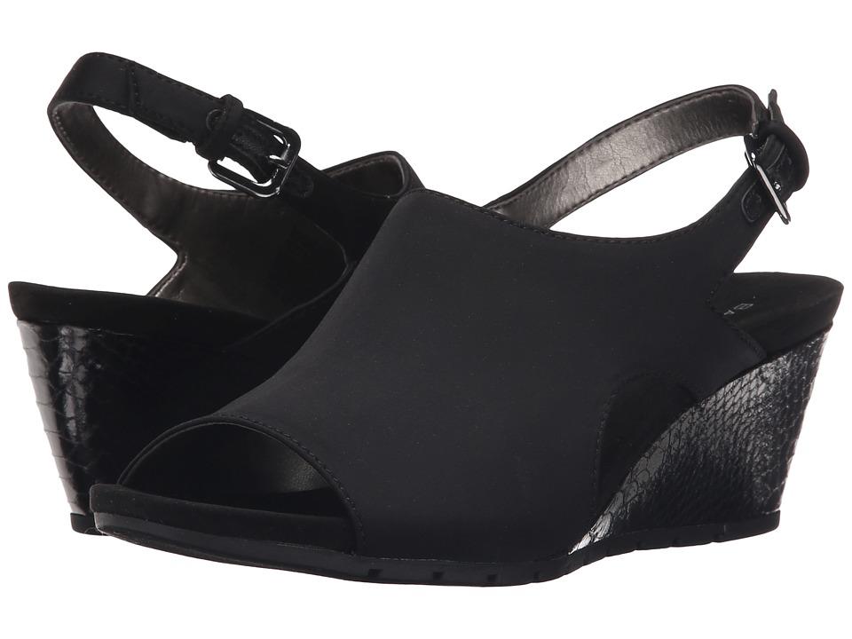 Bandolino - Galatee (Black Fabric) Women's Shoes