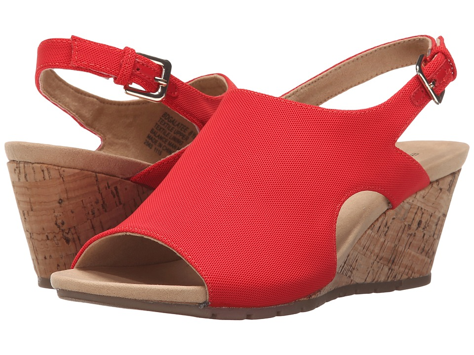 Bandolino - Galatee (Red Fabric) Women's Shoes