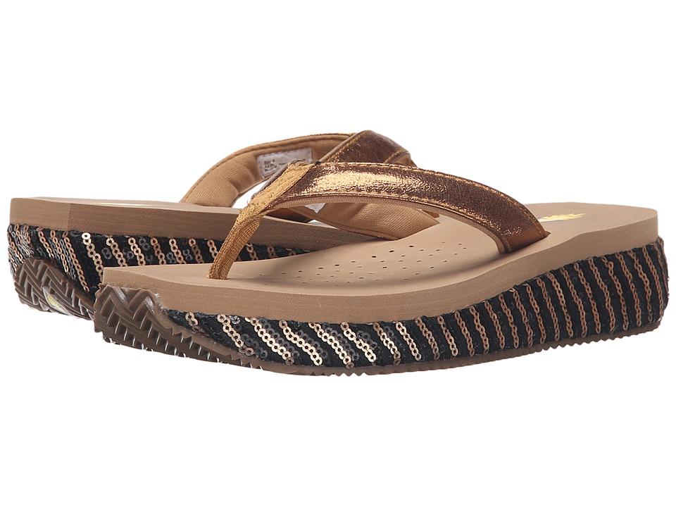 VOLATILE - Silky (Bronze) Women's Sandals