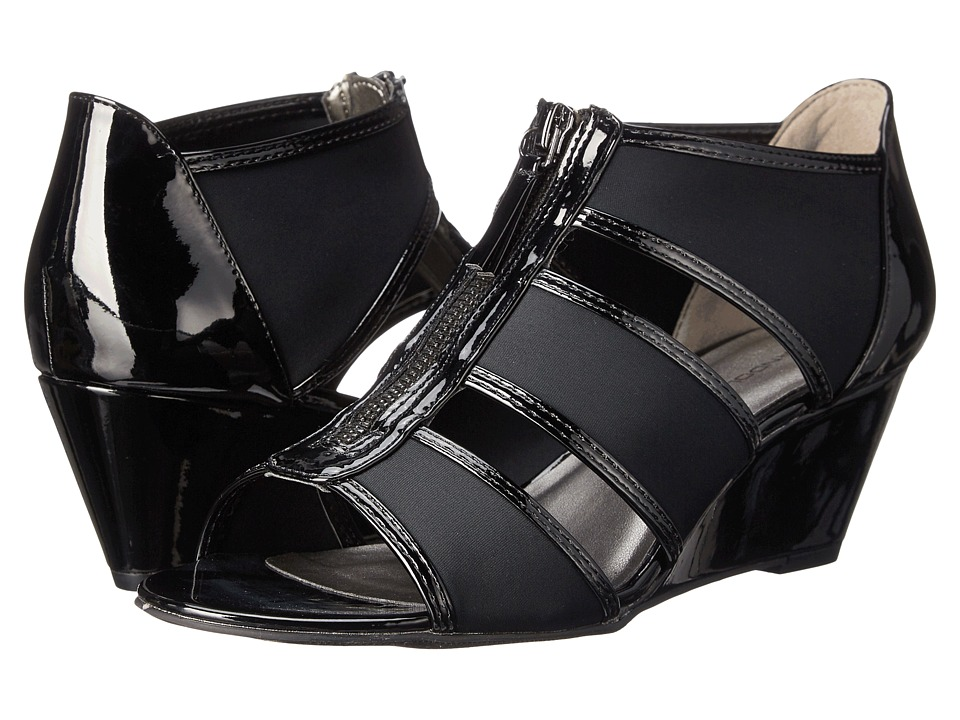 Bandolino Opie (Black/Black Synthetic) Women