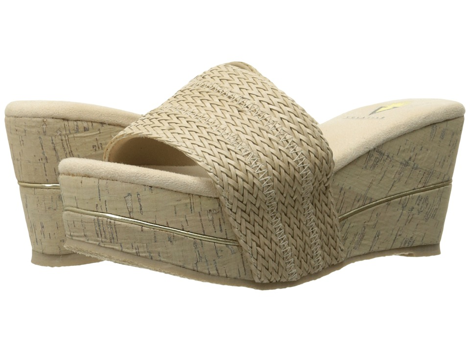 VOLATILE - Weaved (Natural) Women's Wedge Shoes