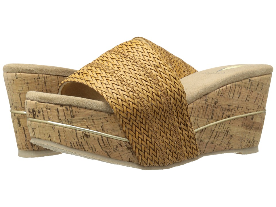 VOLATILE - Weaved (Tan) Women's Wedge Shoes