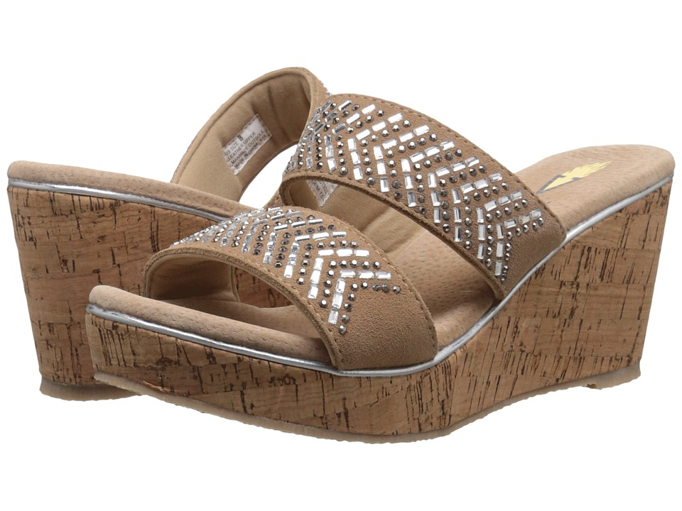 VOLATILE - Jorie (Natural) Women's Wedge Shoes