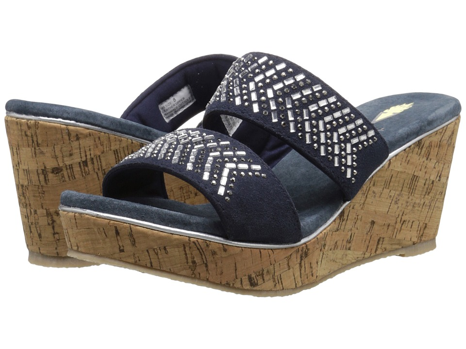 VOLATILE - Jorie (Navy) Women's Wedge Shoes