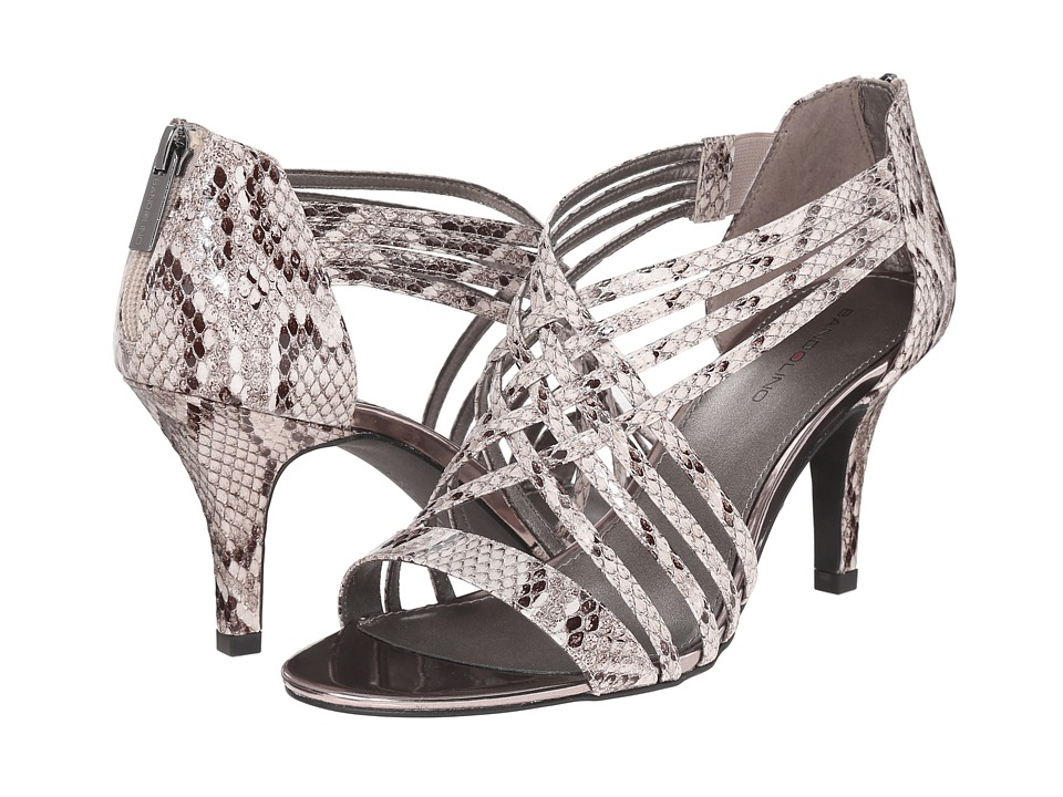 Bandolino - Mellona (Black/Off-White Synthetic) Women's Shoes