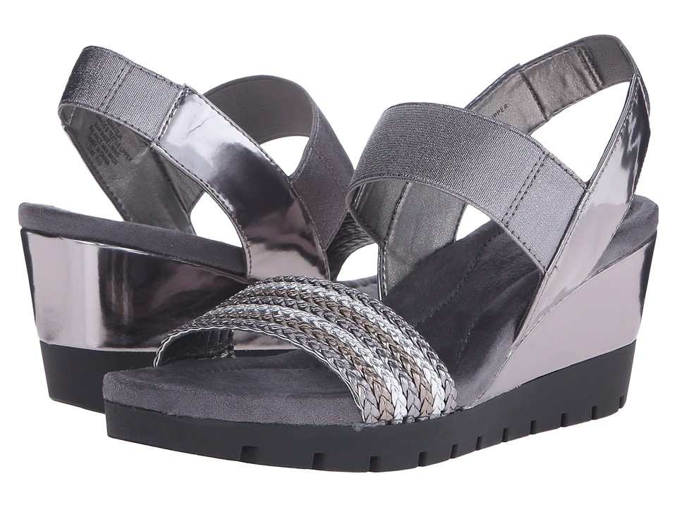 Bandolino - Mateja (Dark Grey Multi Synthetic) Women's Shoes