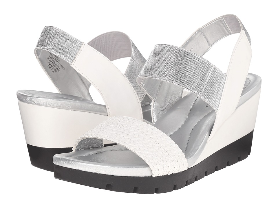 Bandolino - Mateja (White Multi Synthetic) Women's Shoes