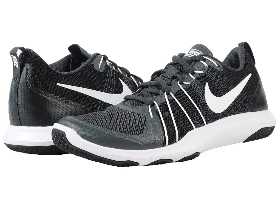 Nike - Flex Train Aver (Black/Dark Grey/White) Men's Cross Training Shoes