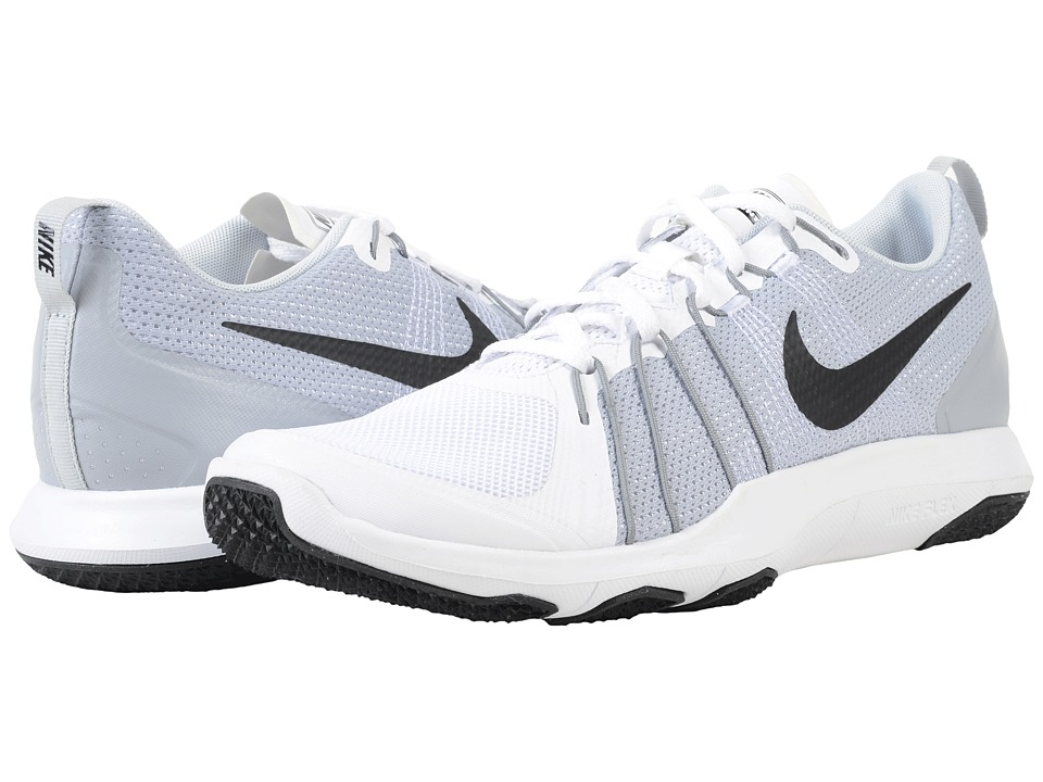 Nike Flex Train Aver (White/Pure Platinum/Black) Men