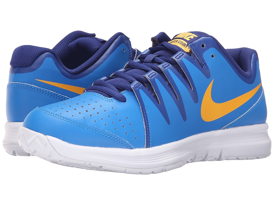 Nike - Vapor Court (Photo Blue/Laser Orange/Deep Royal Blue/White) Men's Tennis Shoes