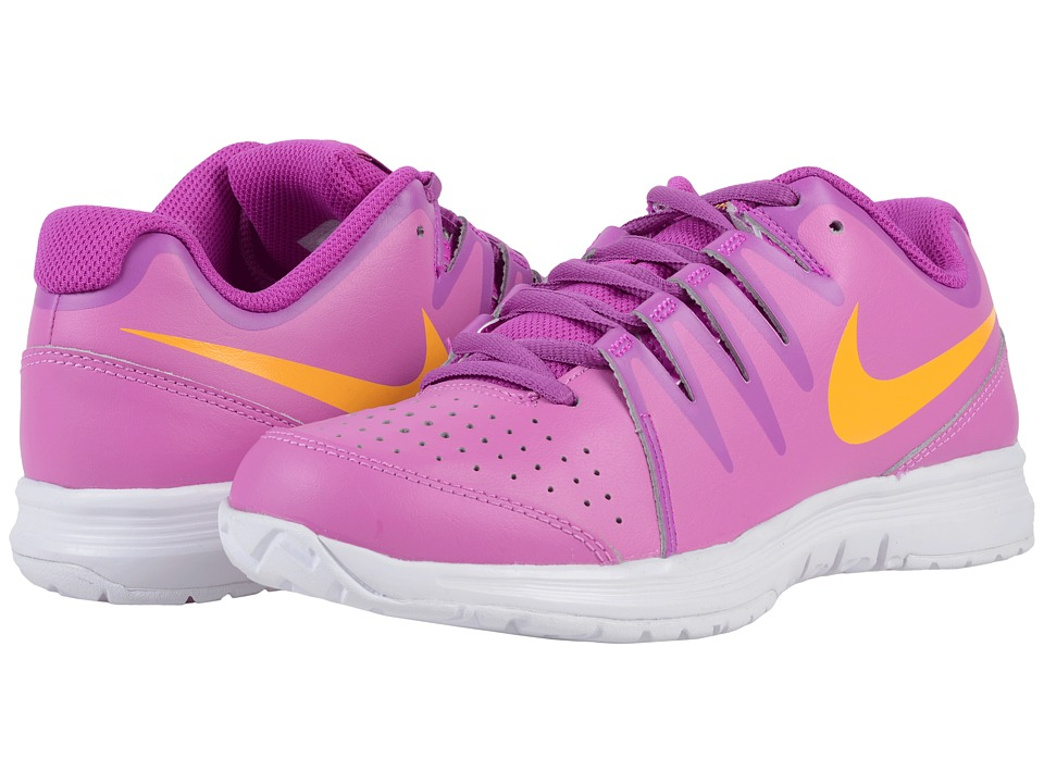 Nike - Vapor Court (Viola/Laser Orange/Hyper Violet/White/Cosmic Purple) Women's Tennis Shoes