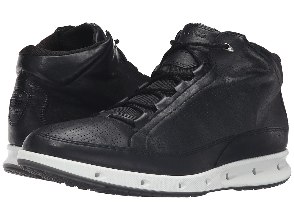 ECCO Sport - Cool GTX High (Black) Men's Walking Shoes