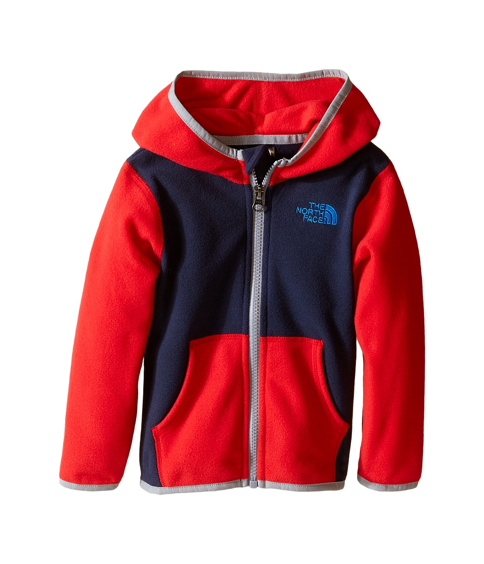 The North Face Kids - Glacier Full Zip Hoodie (Infant) (Cosmic Blue) Girl's Sweatshirt