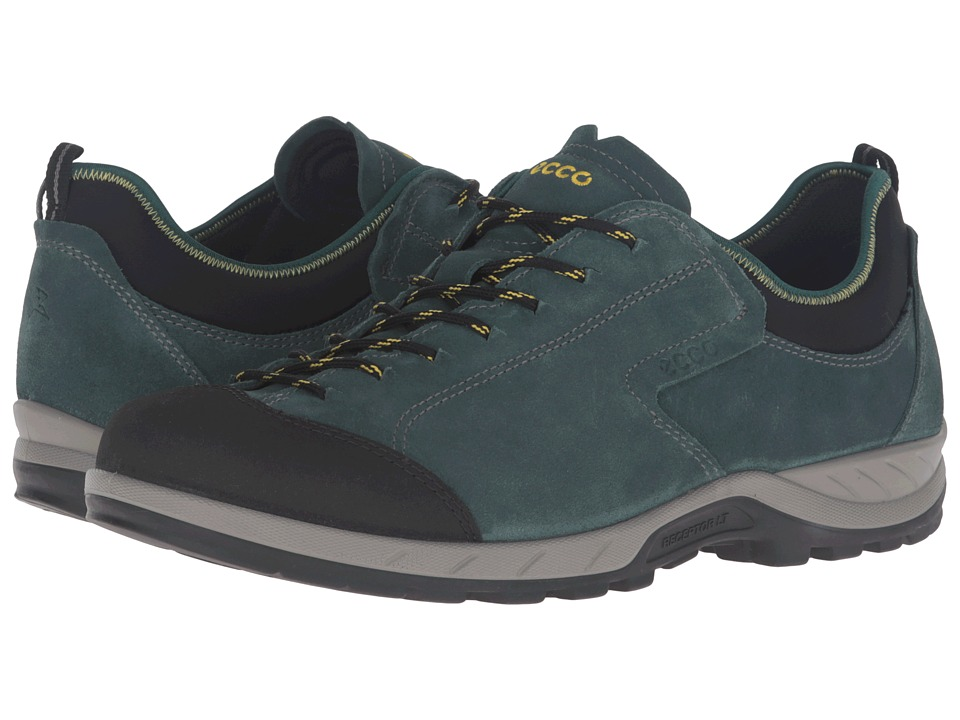 ECCO Sport - Yura Moc Toe (Black/Dioptase) Men's Walking Shoes