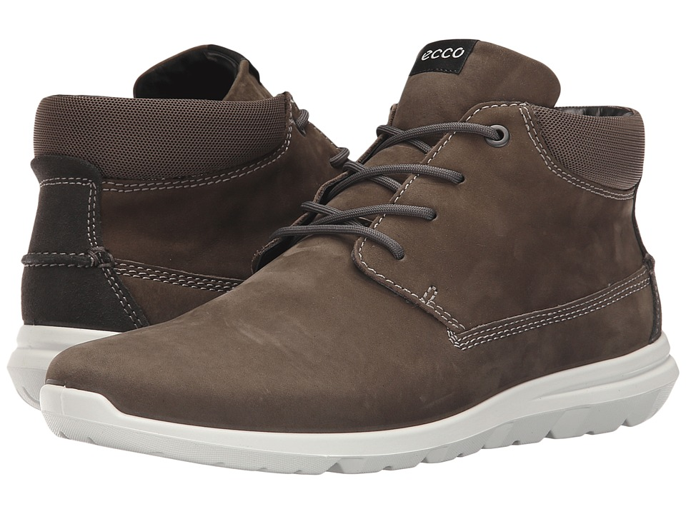 Ecco Performance - Calgary High (Tarmac/Dark Shadow) Men's Walking Shoes