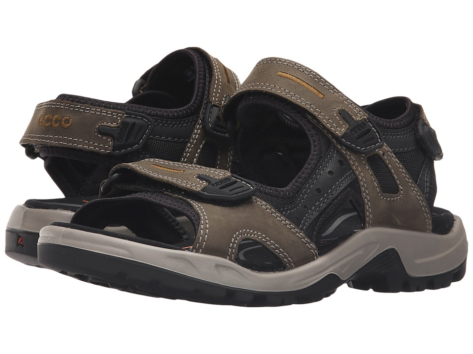 ECCO Sport - Yucatan Sandal (Tarmac/Black/Black) Men's Toe Open Shoes