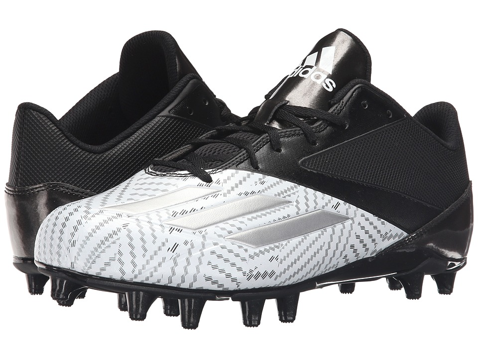 adidas - 5-Star Low Football (Black/Platinum/White) Men's Cleated Shoes