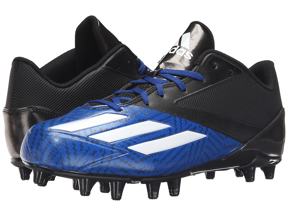 adidas 5-Star Low Football (Black/White/Collegiate Royal) Men