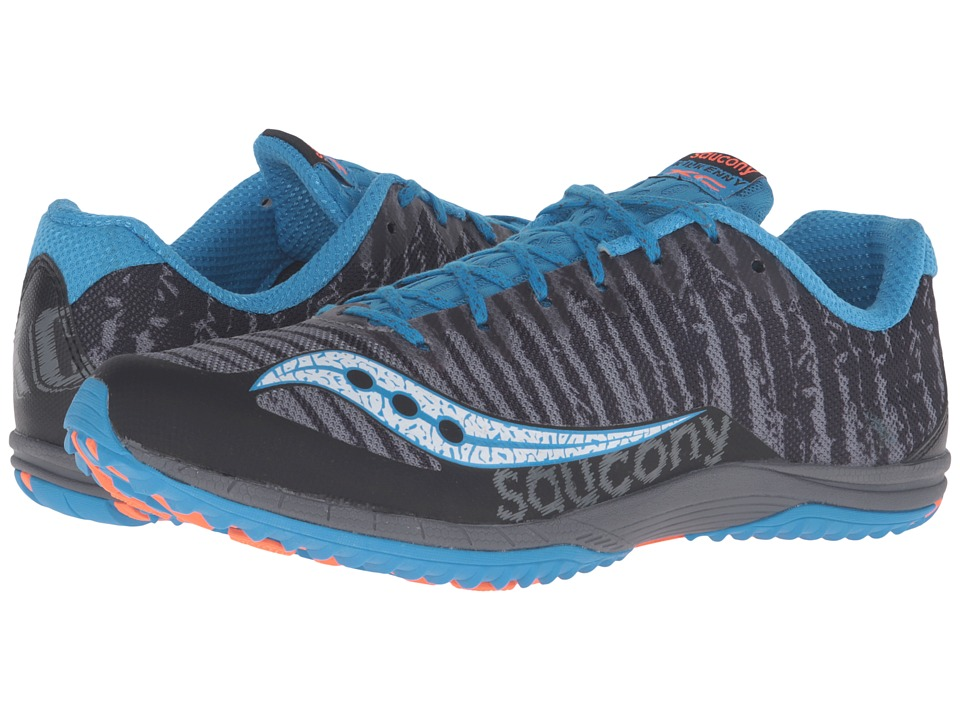 Saucony - Kilkenny XC Flat (Black/Carolina) Men's Track Shoes