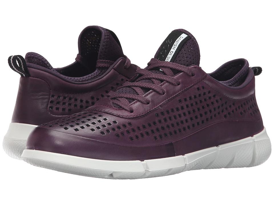 ECCO Sport - Intrinsic Sneaker (Mauve) Women's Walking Shoes