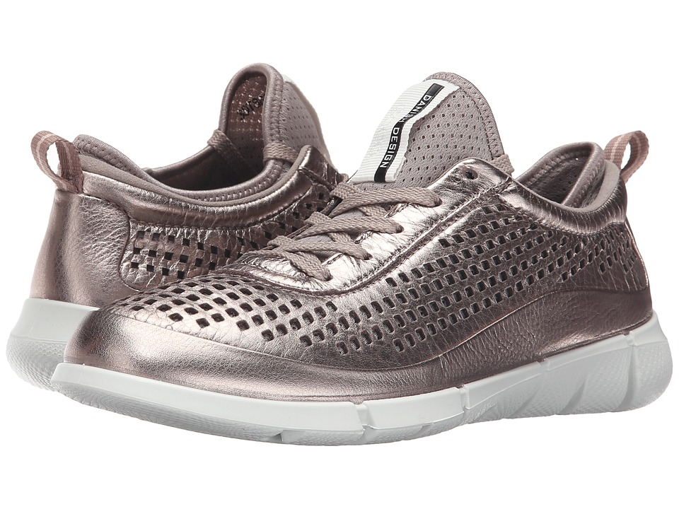 ECCO Sport - Intrinsic Sneaker (Warm Grey Metallic) Women's Walking Shoes