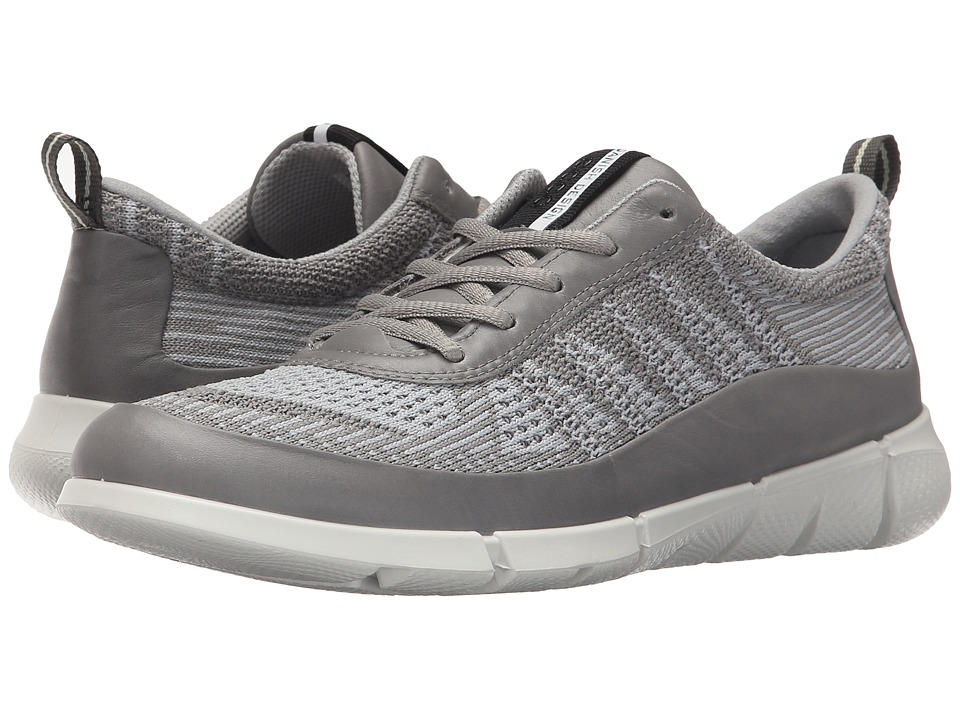 ECCO Sport - Intrinsic Knit (Wild Dove/Concrete) Women's Walking Shoes