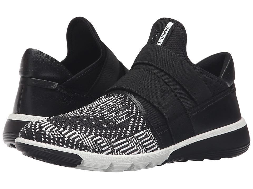 ECCO Sport - Intrinsic 2 Band (White/Black) Women's Walking Shoes