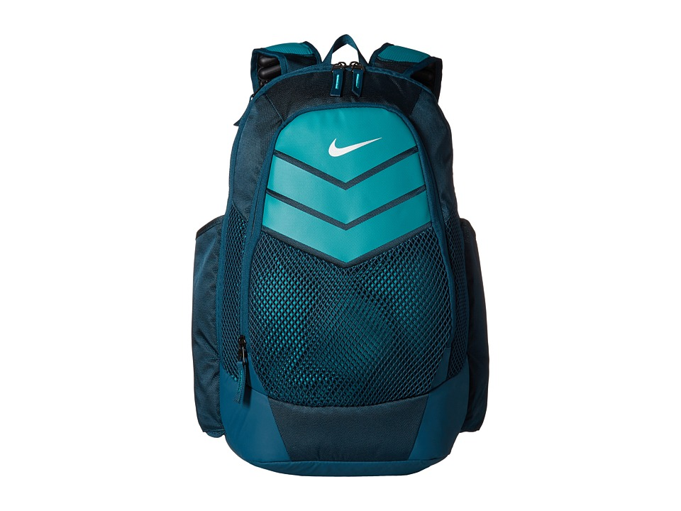 Nike - Vapor Power Backpack (Midnight Turquoise/Rio Teal/Metallic Silver) Backpack Bags