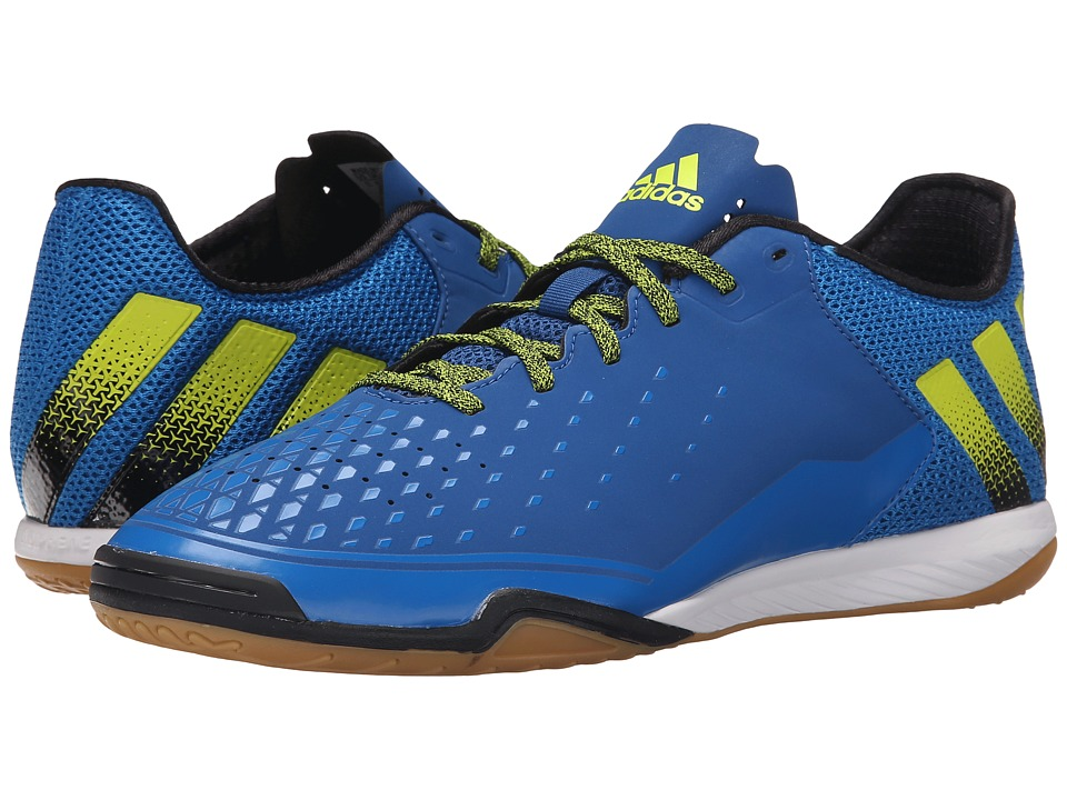 adidas - Ace 16.2 CT (EQT Blue/Black/Semi Solar Slime) Men's Soccer Shoes