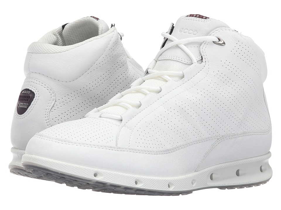 ECCO Sport - Cool GTX High Top (White) Women's Walking Shoes