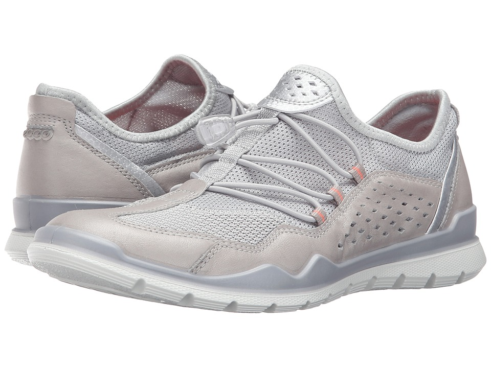 ECCO Sport - Lynx (Silver Grey/Concrete) Women's Walking Shoes