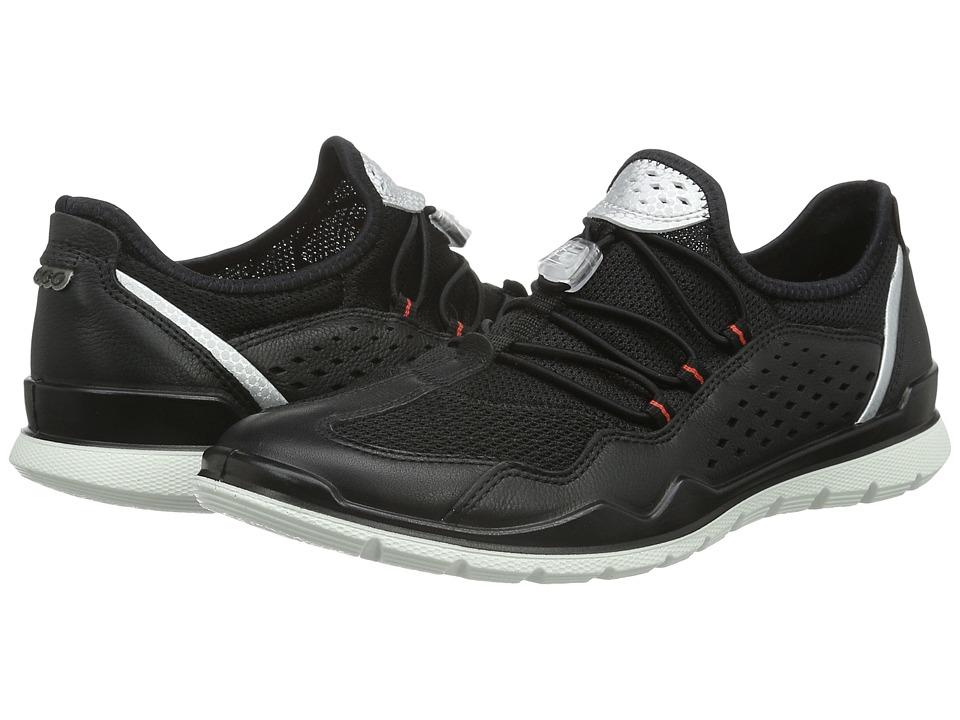 ECCO Sport - Lynx (Black/Black) Women's Walking Shoes