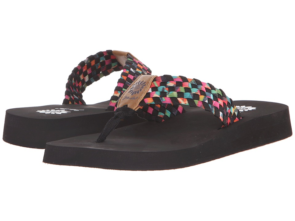 Yellow Box - Soleil (Black Multi) Women's Sandals