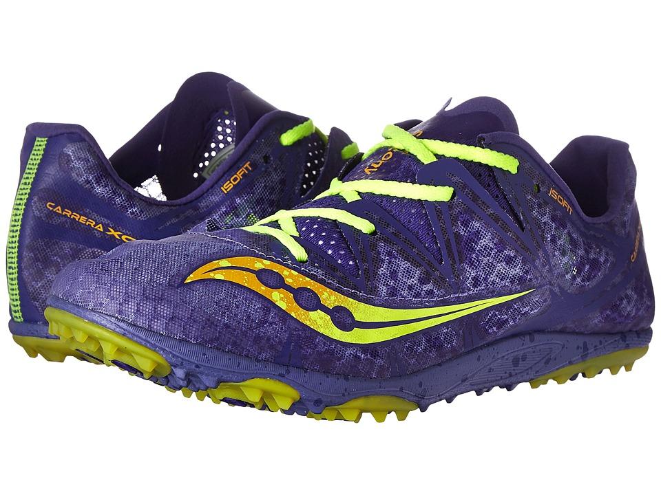 Saucony - Carrera XC Flat (Silver/Vizi Pink) Women's Shoes