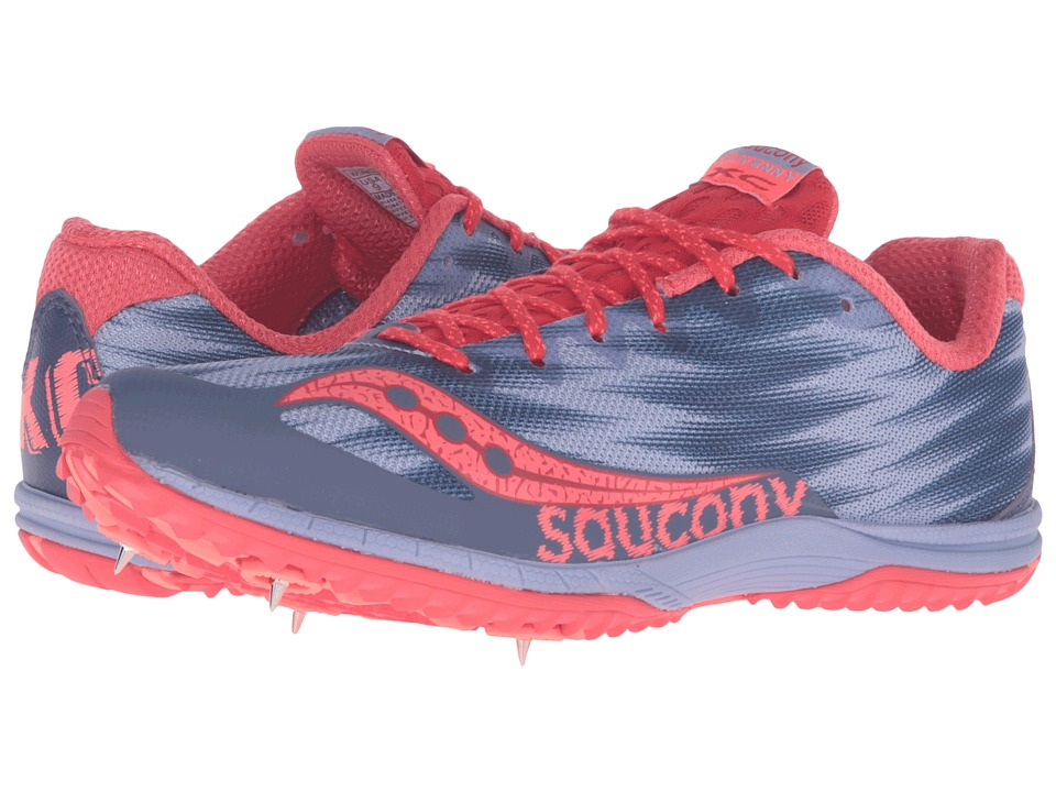 Saucony - Kilkenny XC Spike (Lavender/Red) Women's Shoes