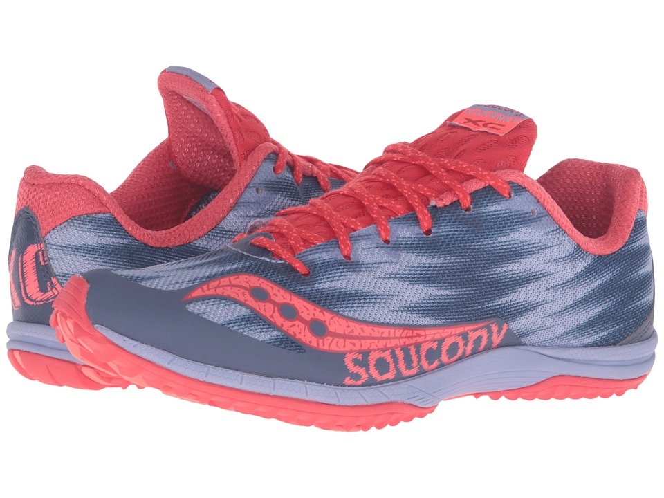 Saucony - Kilkenny XC Flat (Lavender/Red) Women's Shoes