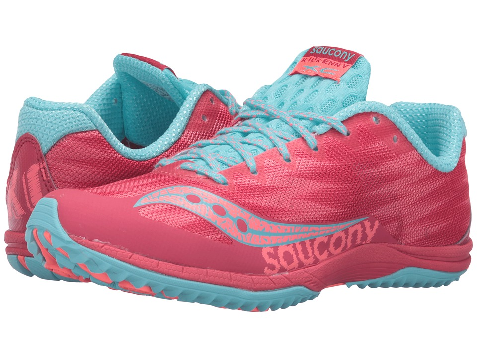 Saucony - Kilkenny XC Flat (Berry/Light Blue) Women's Shoes
