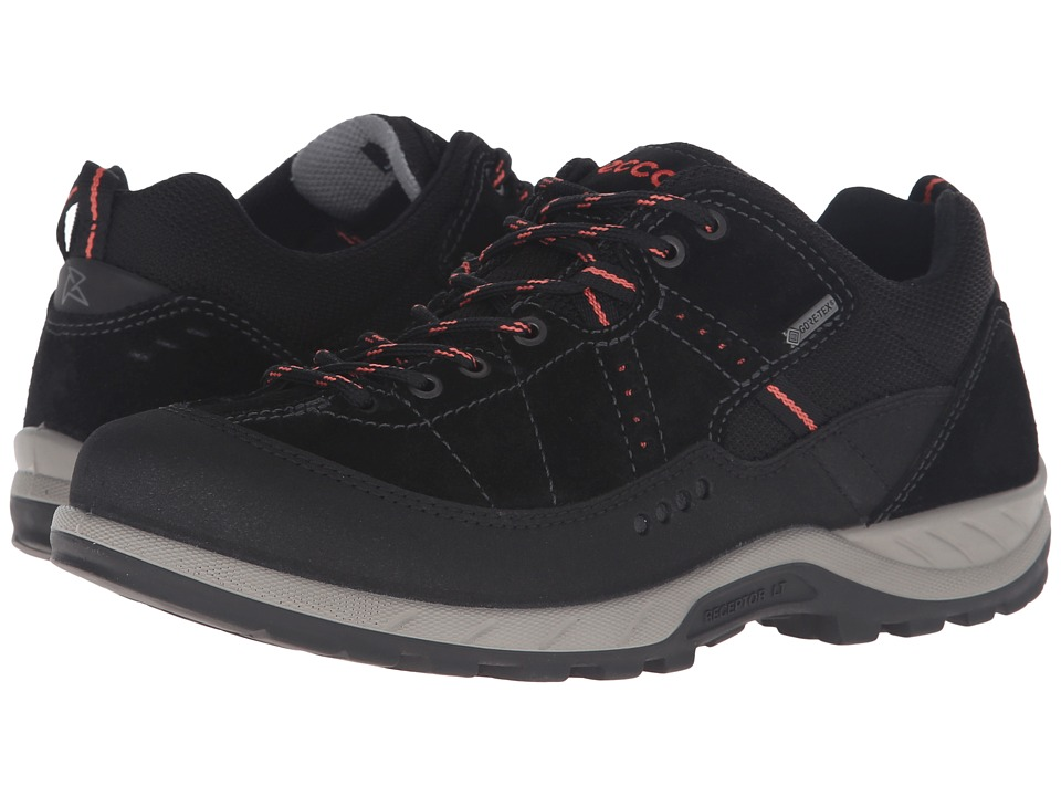 ECCO Sport - Yura GTX (Black/Black) Women's Lace up casual Shoes