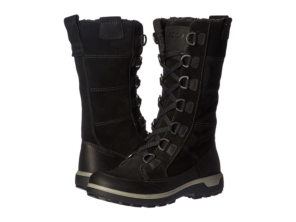 ECCO Sport Gora Tall Boot (Black/Black) Women