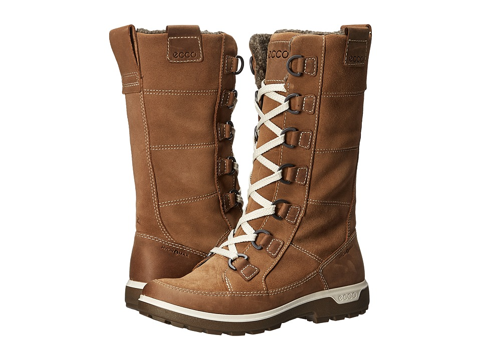 ECCO Sport - Gora Tall Boot (Camel/Camel) Women's Hiking Boots