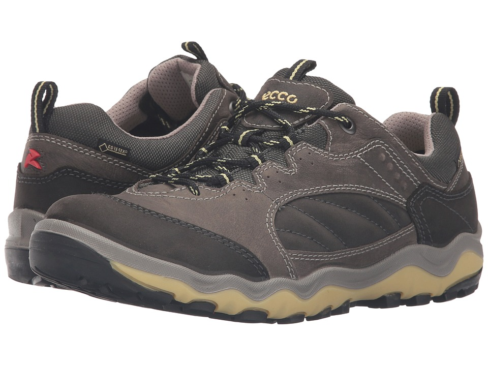 ECCO Sport - Ulterra Lo GTX (Dark Shadow/Dark Shadow/Popcorn) Women's Walking Shoes